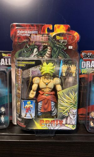 Dragonball Z Hybrid Action Figure SS Broly for Sale in Federal Way, WA