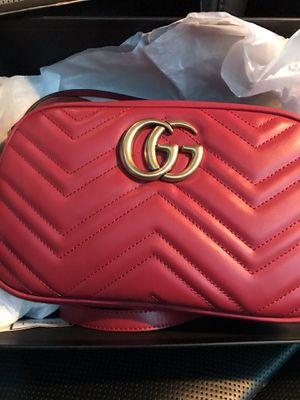 Gucci Red marmont bag small for Sale in Queens, NY
