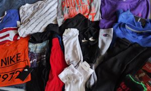 MENS T SHIRT (LONG & SHORT) 13 PAIRS OF ASSORTED SOCKS $45.00 ❗❗❗❗ ALL NEWNO for Sale in Las Vegas, NV
