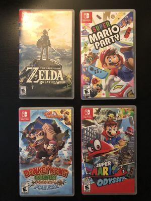 Nintendo Switch Games $50 Each for Sale in San Diego, CA