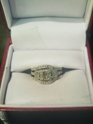 HELSBERG Wedding band Engagement ring Set for Sale in St. Petersburg, FL