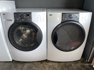 KENMORE ELITE XL CAPACITY STACKABLE WASHER DRYER ELECTRIC for Sale in Vancouver, WA