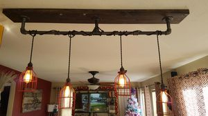 Custom made bar or kitchen light fixture for Sale in Thornton, CO