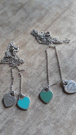 Todo por $150 Es plata 925 y son 2 de Tiffany for Sale in Fontana, CA