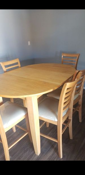 Counter height table w/6chairs for Sale in Mesa, AZ