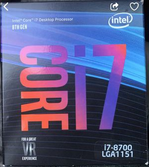 Intel i7 8700 - Never Used for Sale in Damascus, OR