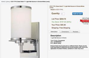 Chrome Minka-Lavery Lights 3721-77-PL (3) for Sale in Phoenix, AZ