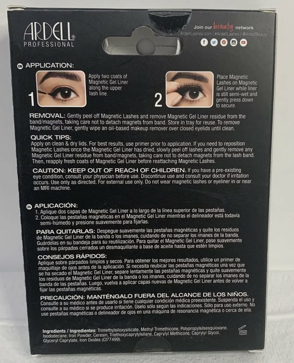 Ardell Magnetic Liner & Lash Kit - Demi Wispies - Faux False Lashes