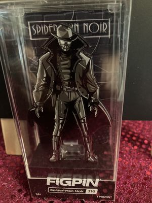 Spider Man Noir 316 Fig Pin for Sale in Wichita, KS