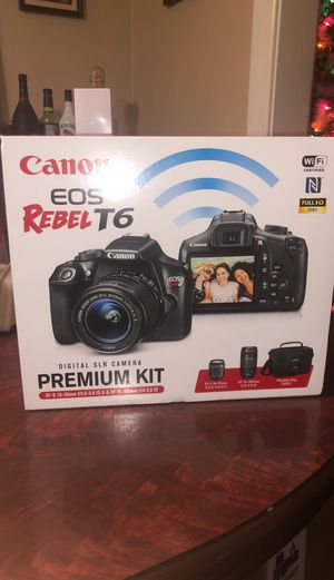 Canon EOS Rebel T6 for Sale in Washington, DC