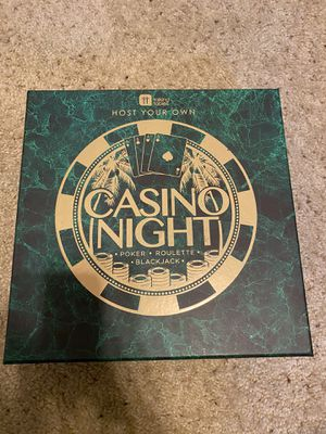 Host Your Own Casino Night with 3 Casino Games for Party for Sale in Los Angeles, CA