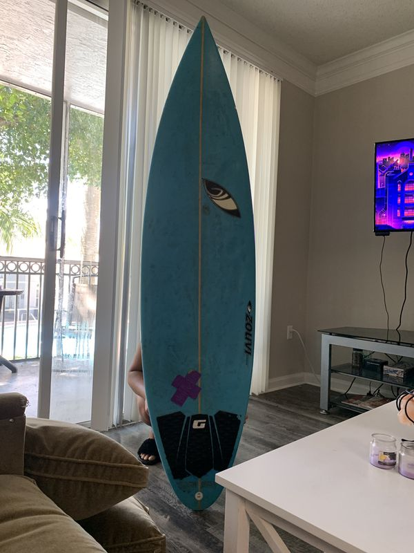 Blue Surfboard SHARP EYE
