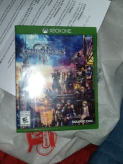 Kingdom Hearts 3 Xbox One Good Condition for Sale in New York,  NY