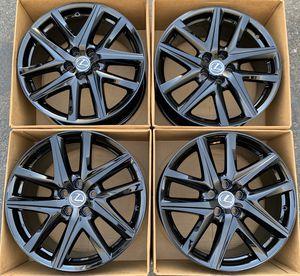 "19"" Lexus GS factory wheels rims gloss black new GS350 GS450 for Sale in Santa Ana, CA"