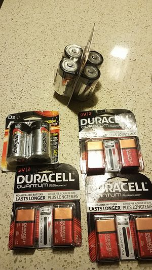 Brand new BATTERIES for Sale in Rockville, MD