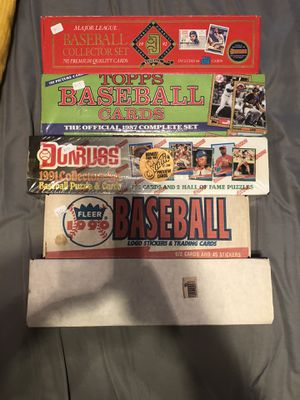 Baseball and hockey cards for Sale in Nashville, TN