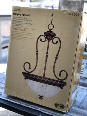 Chandelier hanging light for Sale in Fresno, CA
