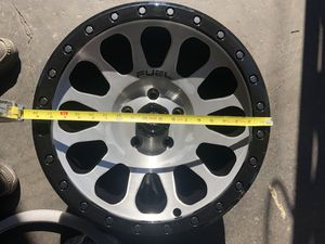 Wrangler Fuel off-road vector style Rims for Sale in San Diego, CA