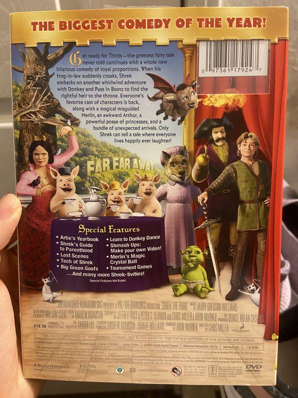BRAND NEW sealed shrek the third dvd