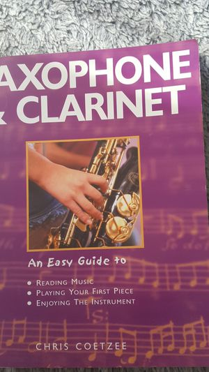 Saxophone and Clarinet reading music book for Sale in Chula Vista, CA