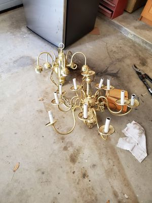 Two old chandeliers for Sale in Burleson, TX