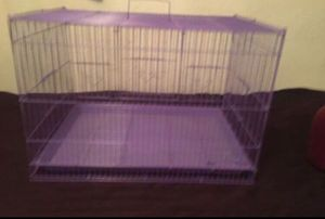 Purple RABBIT cage HAMSTER Guinea pig Breeding Dog cat crate for Sale in Los Angeles, CA