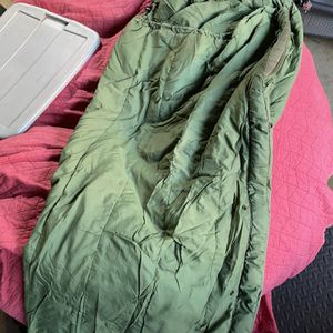 Sleeping bag camping for Sale in Lakewood, CA