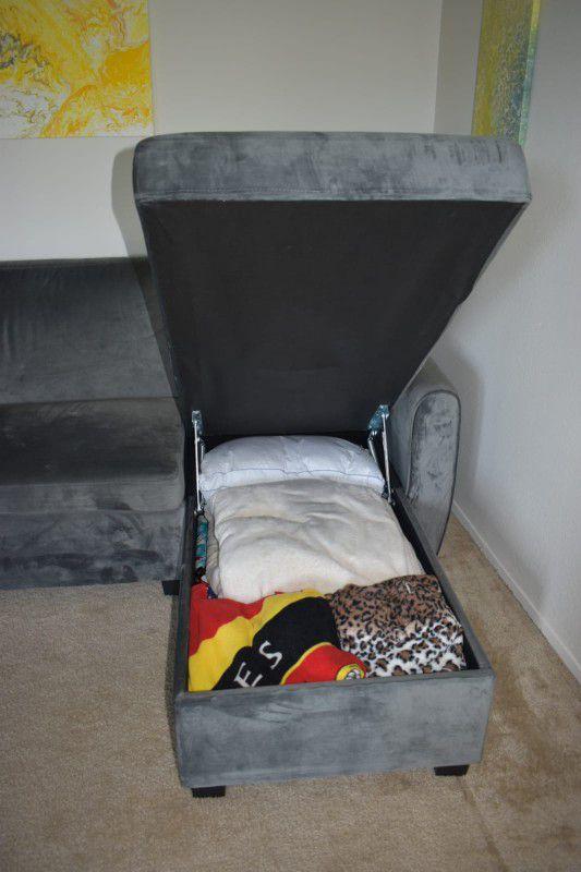 Reversible Sleeper Sectional