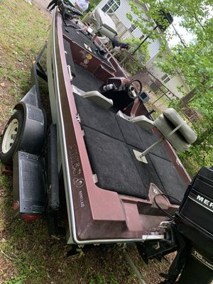 1987 Bass Boat and Trailer for Sale in Taylors, SC
