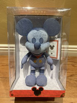 Disney Year of the Mouse Collector Plush Train Conductor Mickey Mouse Damaged Box for Sale in Buena Park, CA