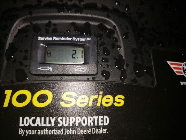 John deere E100 new
