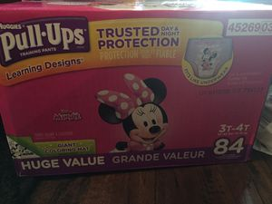 Huggies pull ups 3t 4t for Sale in Nashville, TN