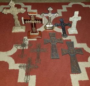 Assorted Cross Decor for Sale in Houston, TX