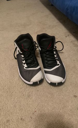White and black Jordans size 8 1/2 wore them a couple times for Sale in Spring Hill, FL