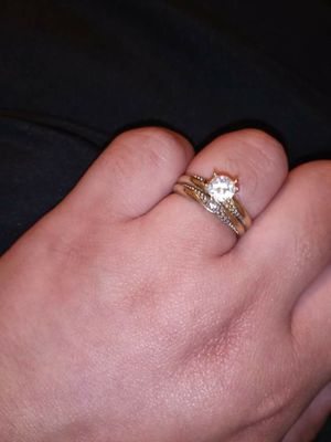 Wedding ring 10k size 6 for Sale in Springfield, MA