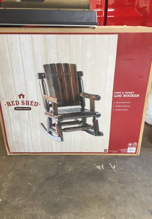 Red Shed post and Picket Log Rockers Brand new in box for Sale in Torrance, CA