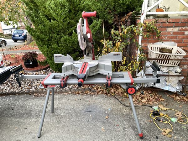 "Milwaukee 12"" Compound Miter Saw w/ Stand"