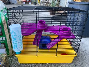 Hamster cage for Sale in Vancouver, WA