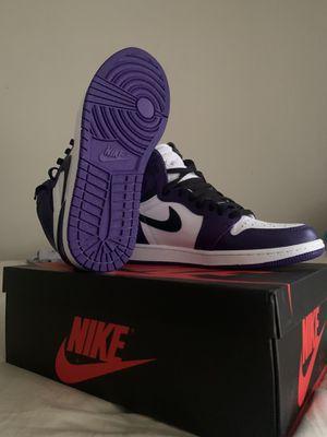 Jordan 1 Court Purple for Sale in Anaheim, CA