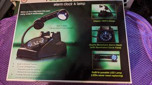 Iclassic phone alarm clock & lamp for Sale in Inglewood, CA