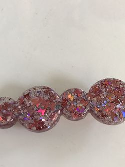 Pink Circle Butterfly Hair Clip for Sale in Pittsburgh,  PA