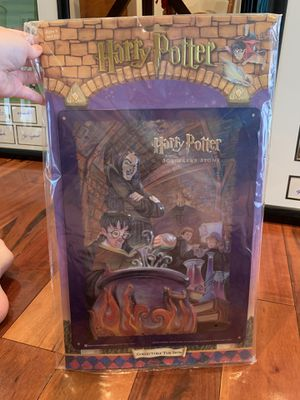 Harry Potter Collectible Tin Sign for Sale in Sterling, VA