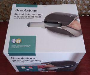 Brookstone Shiatsu Hand Massager with Heat for Sale in Lakeland,  FL