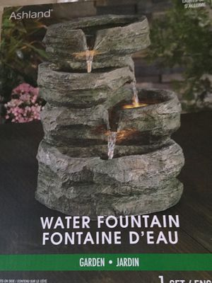 Water fountain with lights for Sale in Los Angeles, CA