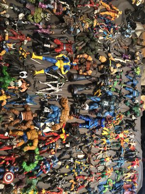 6 inch scale action figure collection for Sale in Thonotosassa, FL