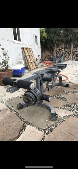Workout Bench for Sale in San Fernando, CA