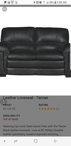2leather sofas for Sale in South Salt Lake, UT