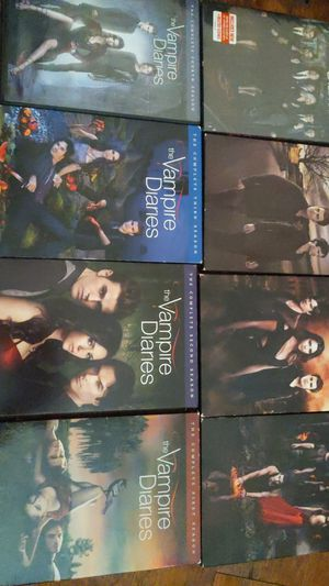 Vampire diaries entire series for Sale in Suffolk, VA