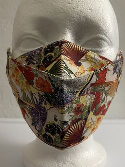 3D Face Mask Adults (Floral Fans)-C71 for Sale in San Diego,  CA