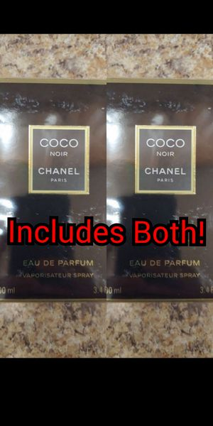 Lot of 2 Chanel Coco Noir Women's Perfume - Each is 3.4 FL OZ for Sale in Ridley Park, PA